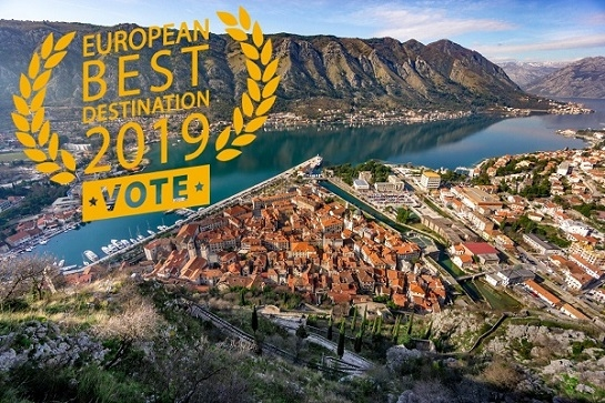 Kotor u trci za najbolju evropsku destinaciju 2019. godine