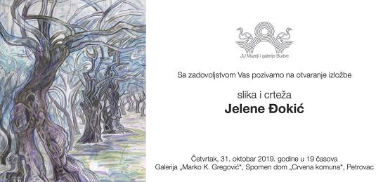 Otvaranje izložbe slika i crteža umjetnice Jelene Đokić u Petrovcu