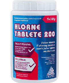 Akcija za Hlorne tablete 200