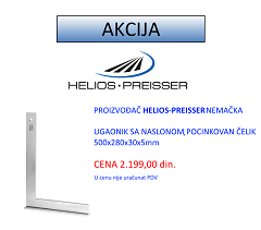 Ugaonik sa naslonom Helios Preisser Akcija