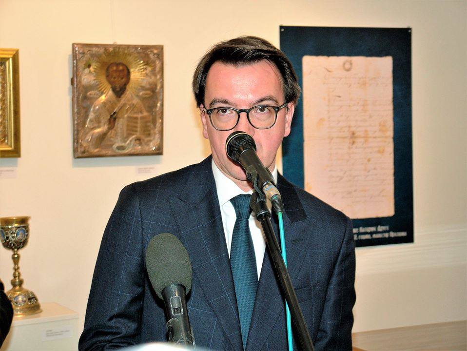 Ambasador Ruske Federacije u Crnoj Gori Njegova Ekselencija Vladislav Maslennikov