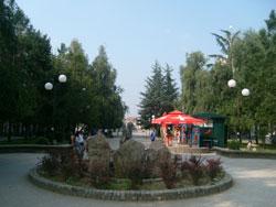 Opština Bujanovac Gradski trg u Bujanovcu