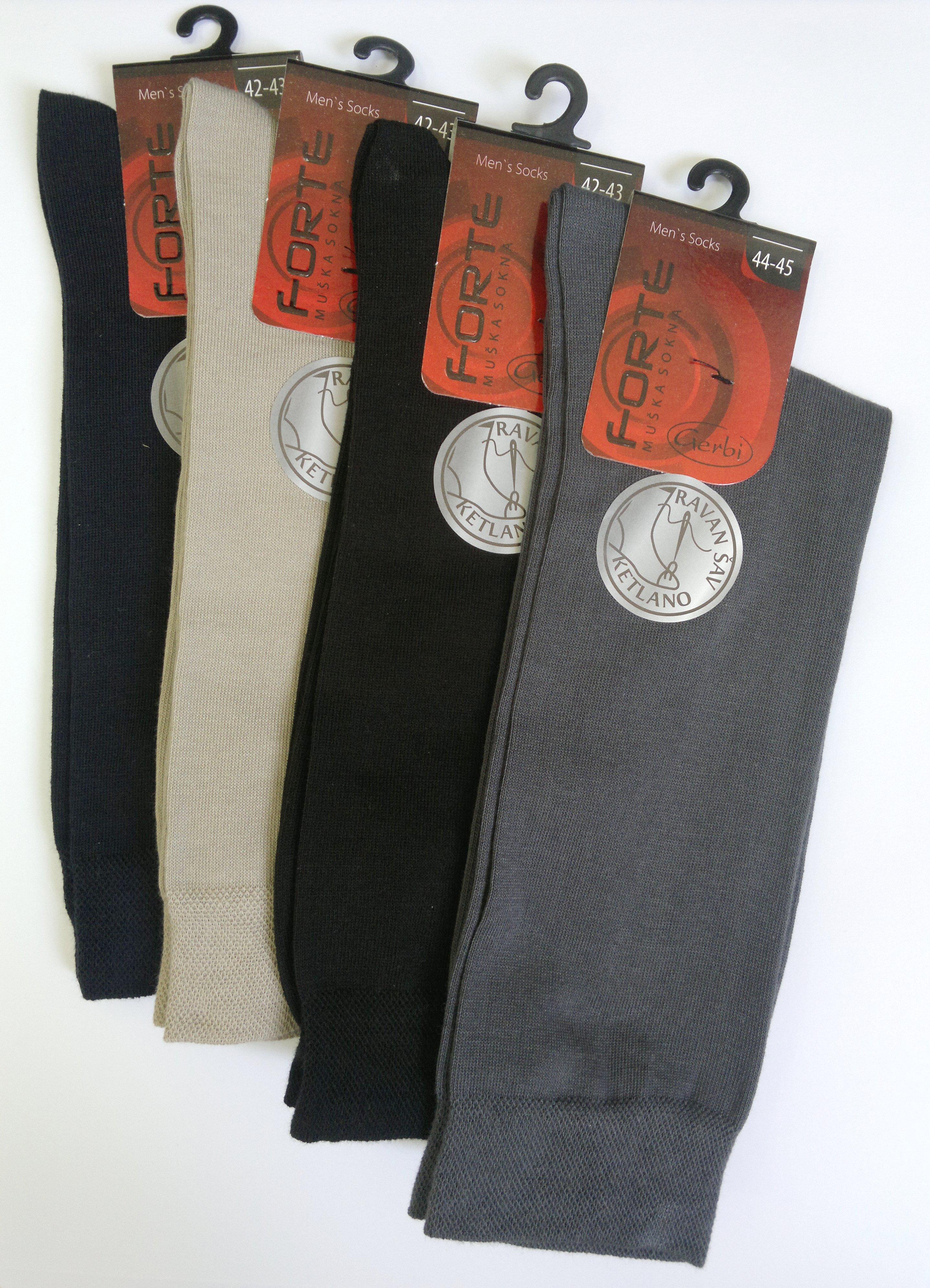 Gerbi doo Muške pamučne čarape u raznim bojama