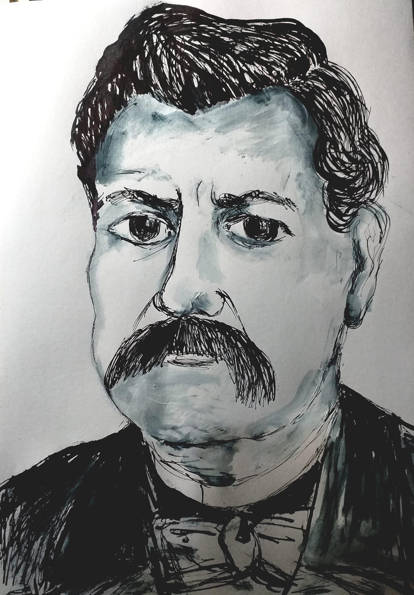portret_stefan_mitrov_ljubisa_rajna_krulj