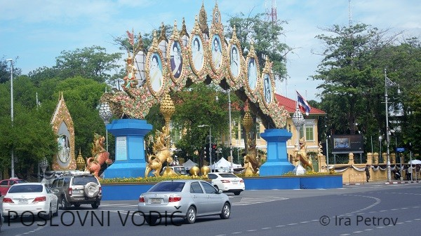Thanon Ratchadamnoen Nok Bangkok