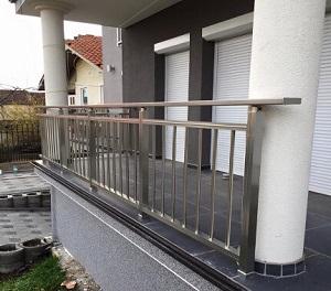 aluminijumske ograde vertikalne cetvrtaste al profil krusevac