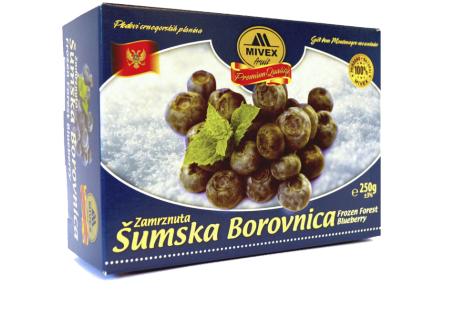 Mivex Food Zamrznuta šumska borovnica, Frozen Forest Bluberry