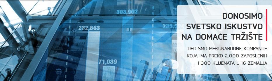 ComTrade IT Solutions and Services (ITSS) Beograd Donosimo svetsko iskustvo na domaće tržište Deo smo međunarodne kompanije koja ima preko 2000 zaposlenih i 300 klijenata u 16 zemalja
