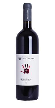 Vinarija Despotika crveno vino Dokaz, red wine