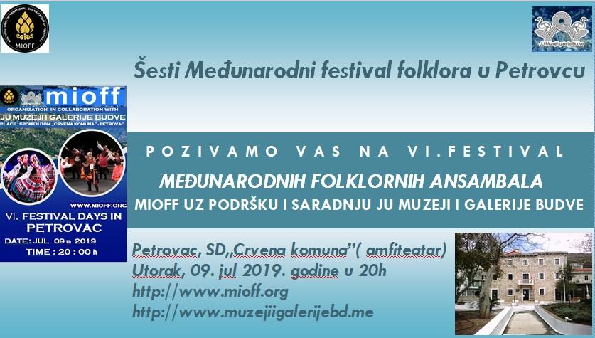 elektronska pozivnica mioff medjunarodni folklorni festival julski festivalski dani u petrovcu 2019 petrovac