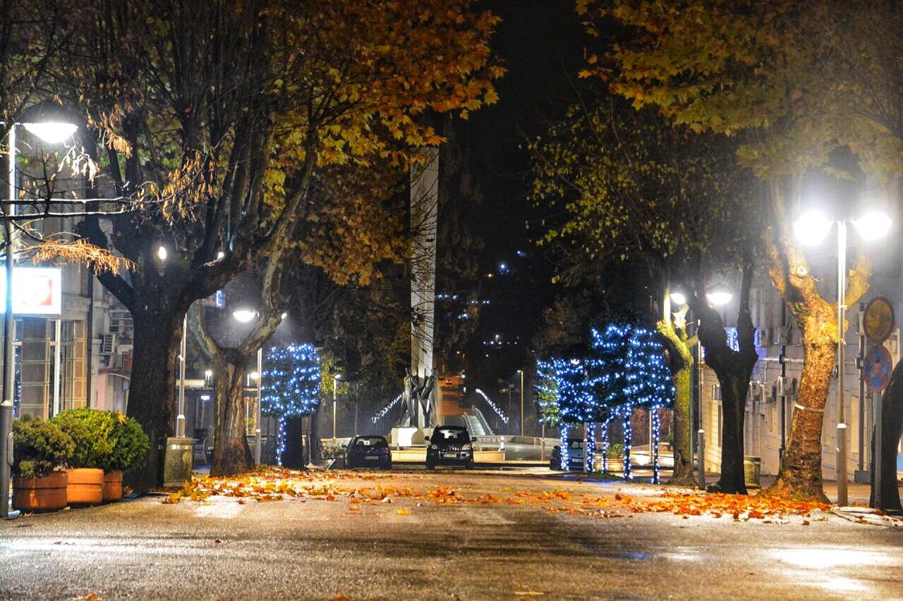glavna_ulica_danilovgrad_nocu