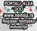 Registar hemijske industrije
