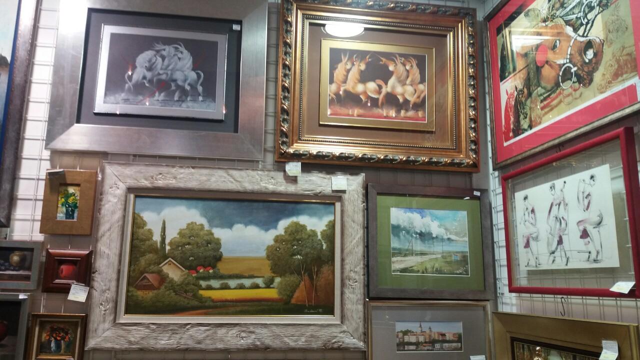 Galerija Taurus Beograd Prodajna galerija, slike akademskih slikara, ukrasni predmeti, galerijska roba
