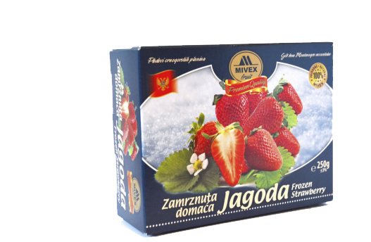 Mivex Food Zamrznuta jagoda, Frozen Strawberry
