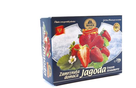 Mivex Food Zamrznuta jagoda, Frozen Strawberry