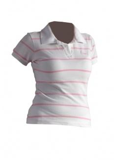 Brug Jeans Ženska majica sa kragnicom bela