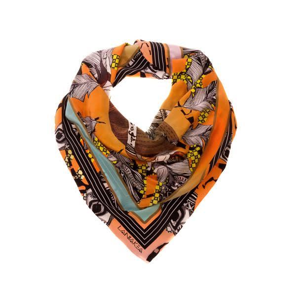 Laniakea Beograd we design silk scarves