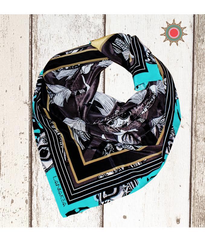 Laniakea Beograd Unikatne svilene marame oslikane