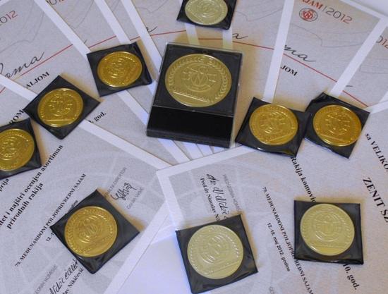 Nagrade za rakije Zenit