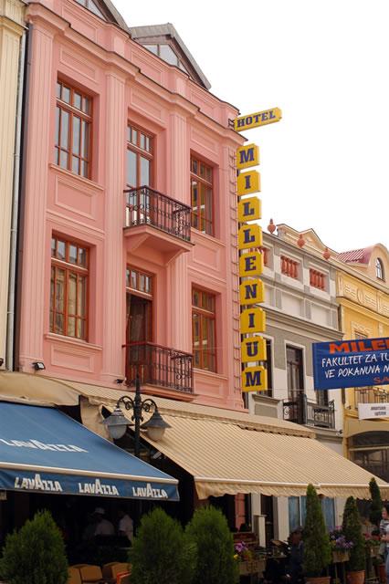 Hotel Millenium Palace u centru dobro poznate Bitolske ulice Širok sokak