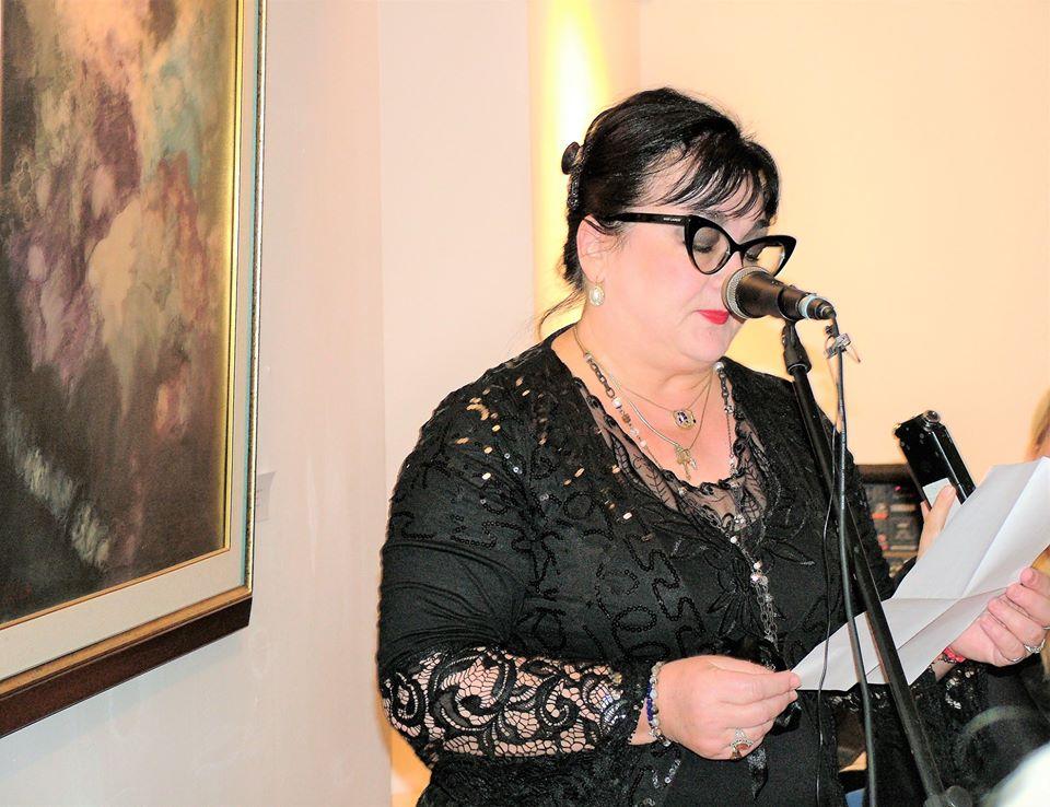 mr lucija djuraskovic na promociji monografije sava pavlovica u budvi novembar 2019