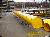 Pimi doo Cevi namenjene transportu abrazivnih materija