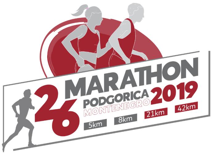 plakat 26. podgoricki maraton 2019 podgorica