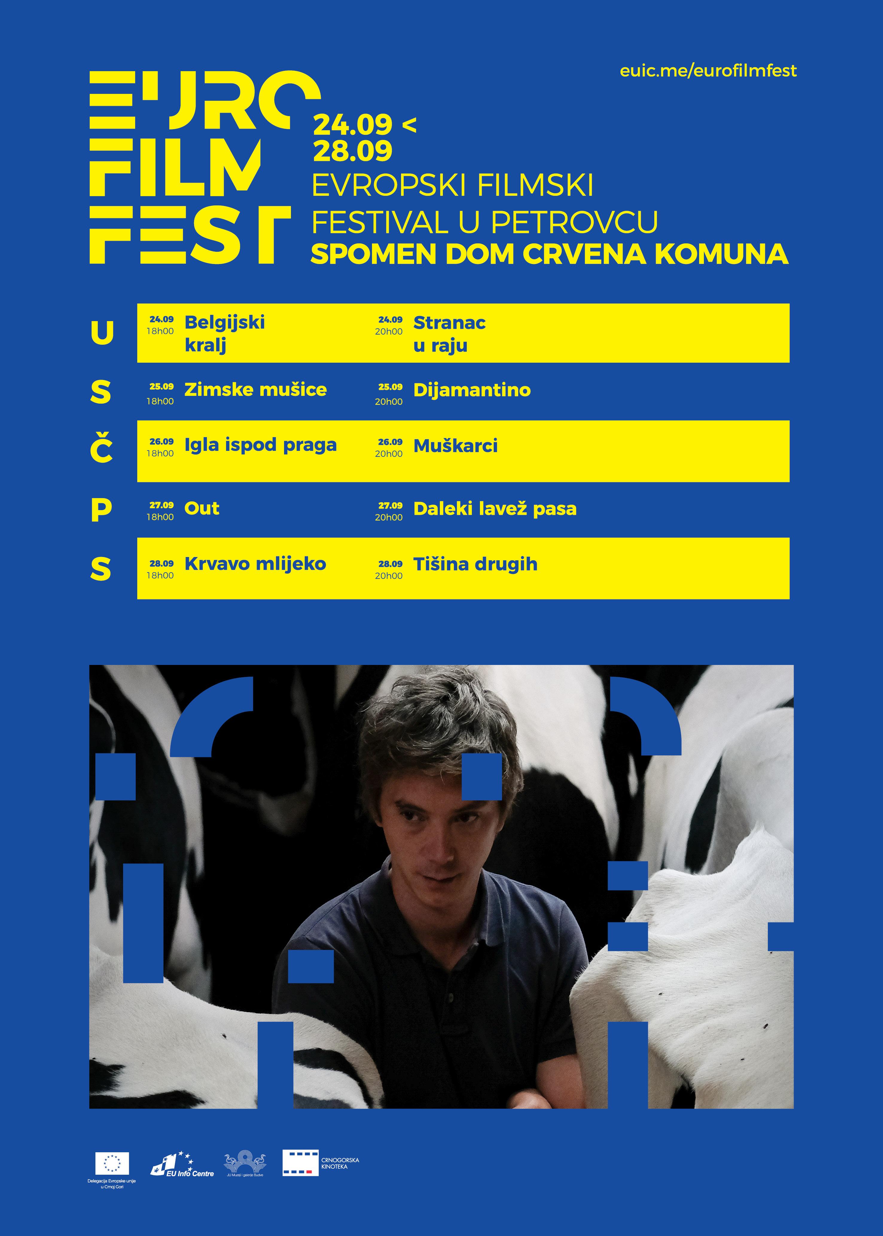 plakat Evropski filmski festival 2019 Petrovac