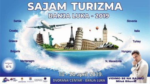 plakat medjunarodni sajam turizma banja luka 2019