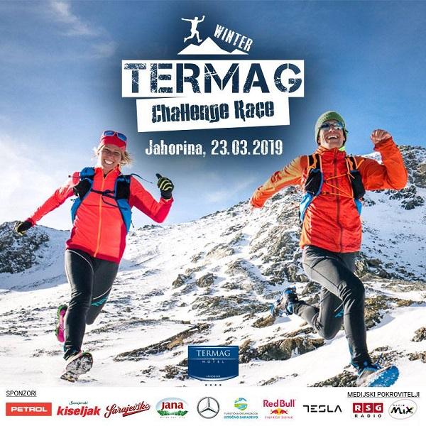 plakat za winter termag challenge race mart 2019 jahorina