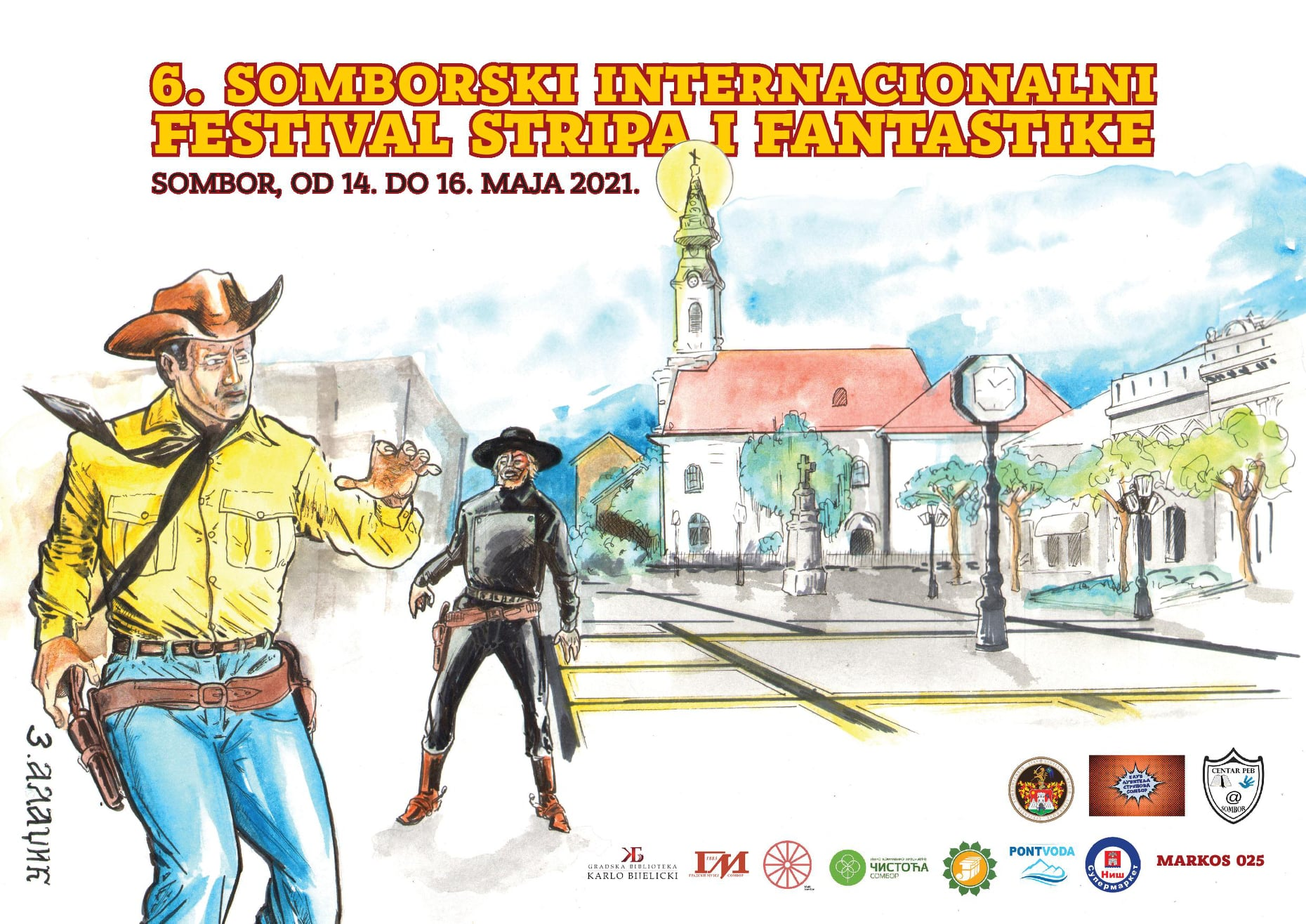 plakat-6-somborski-internacionalni-festival-stripa-i-fantastike-2021-sombor