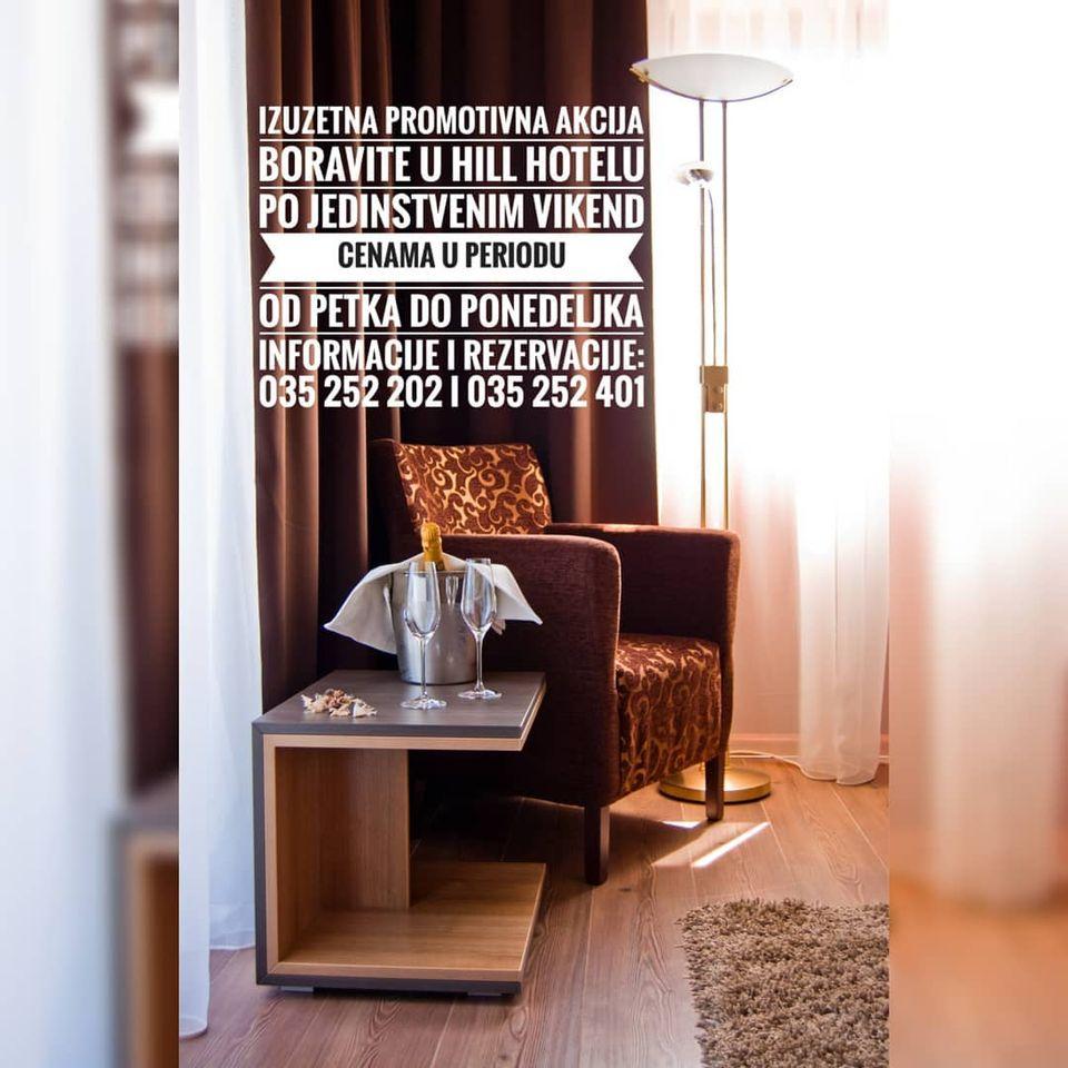 plakat-akcija-vikend-cene-hotel-hill-jagodina