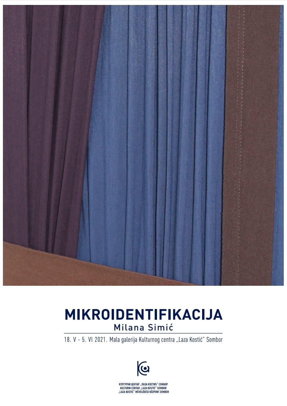 plakat-izlozba-mikroidentifikacija-milana-simic-2021-sombor