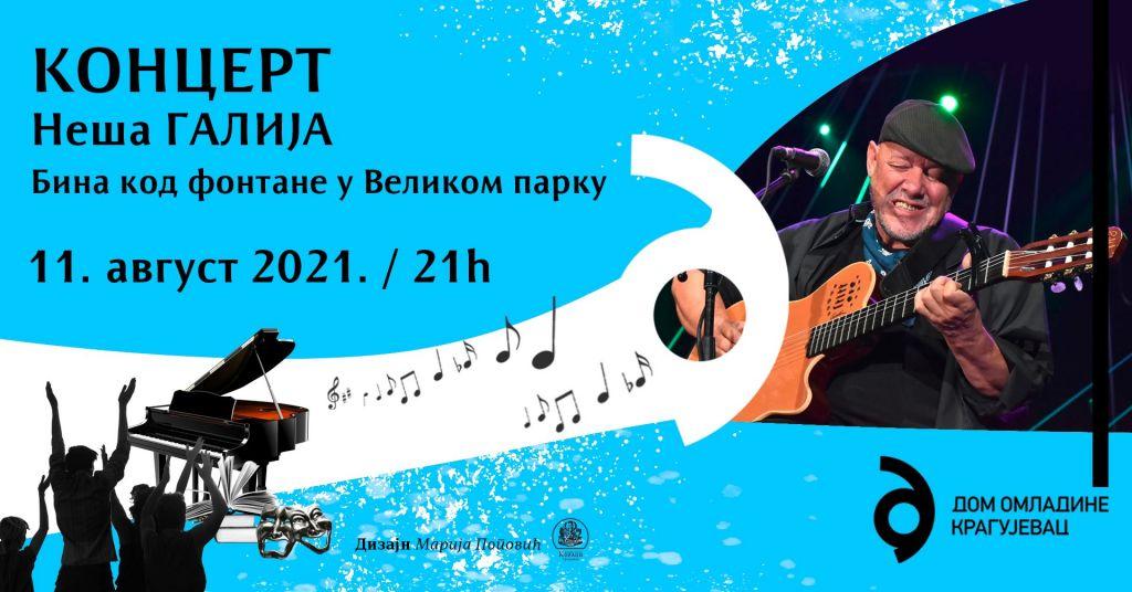 plakat-koncert-nesa-galija-2021-kragujevac