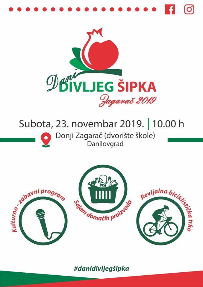 plakat_dani_divljeg_sipka_2019_donji_zagarac_danilovgrad