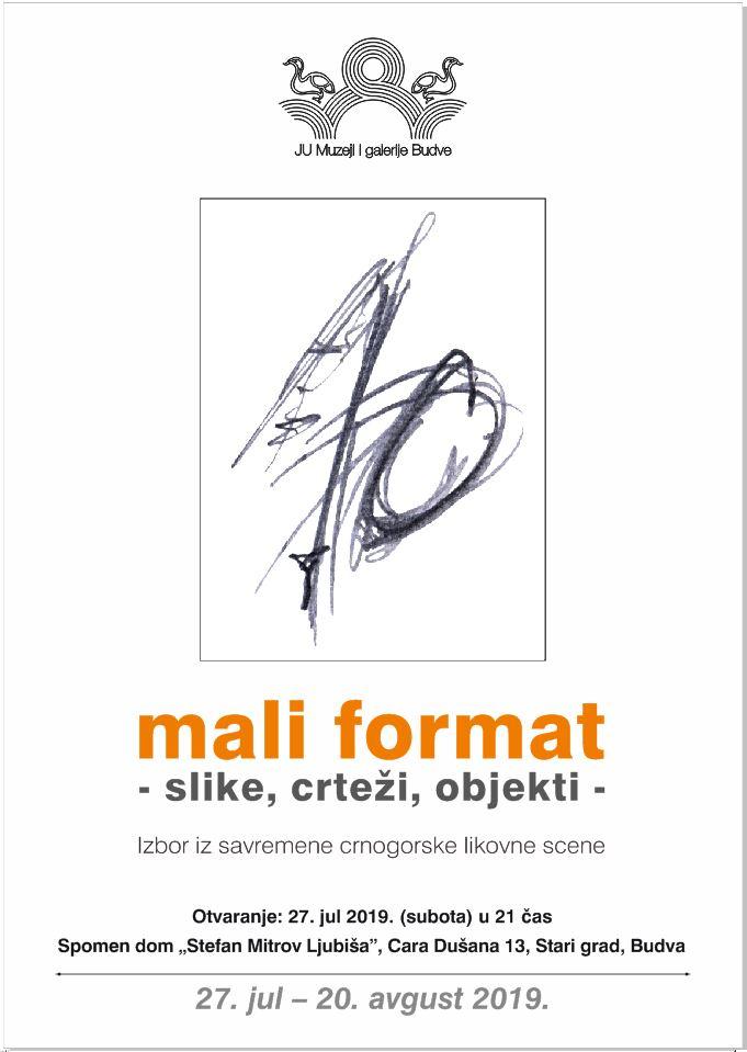 plakat_izlozba_mali format_2019_budva