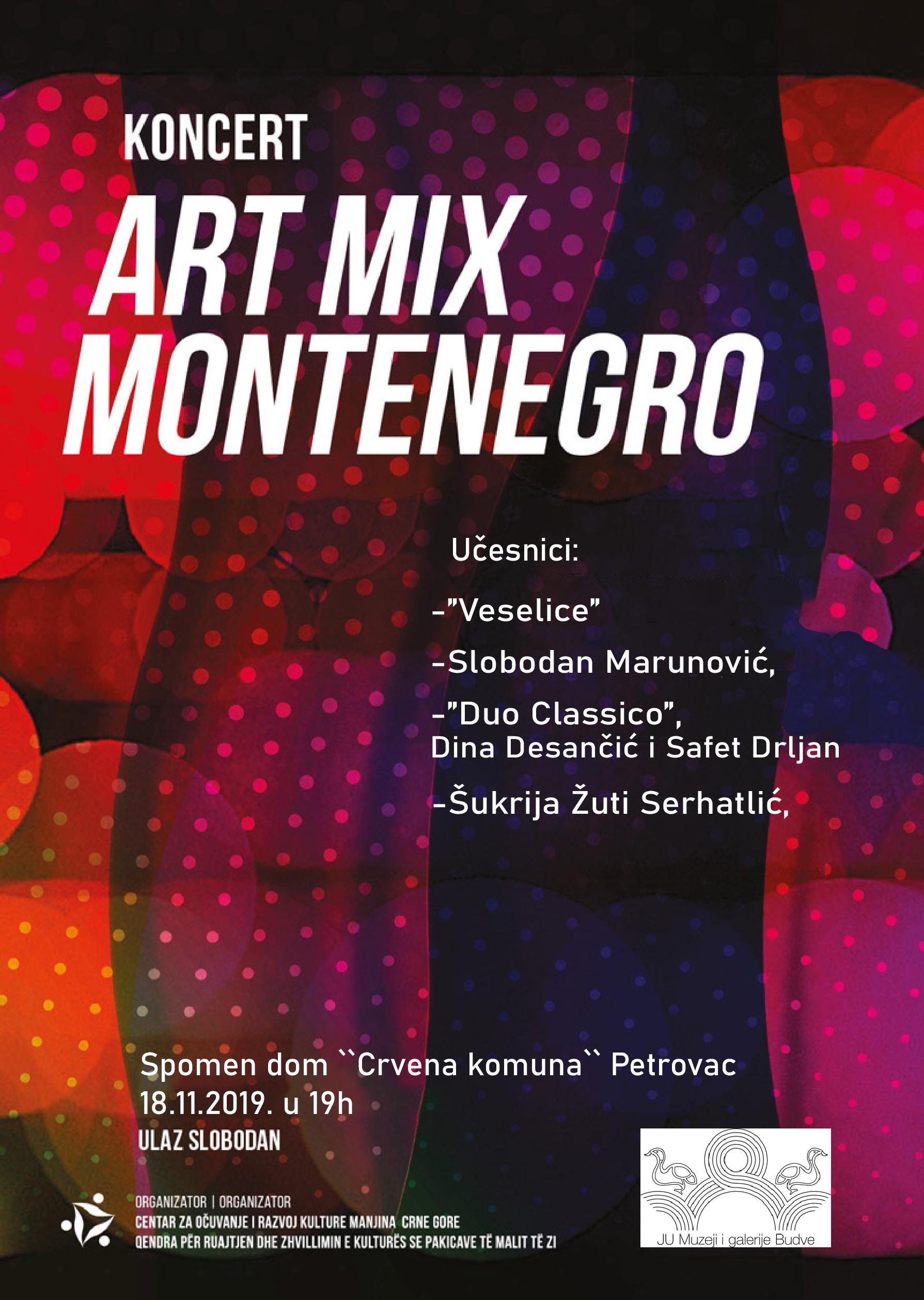 plakat_koncert_art_mix_montenegro_2019_petrovac