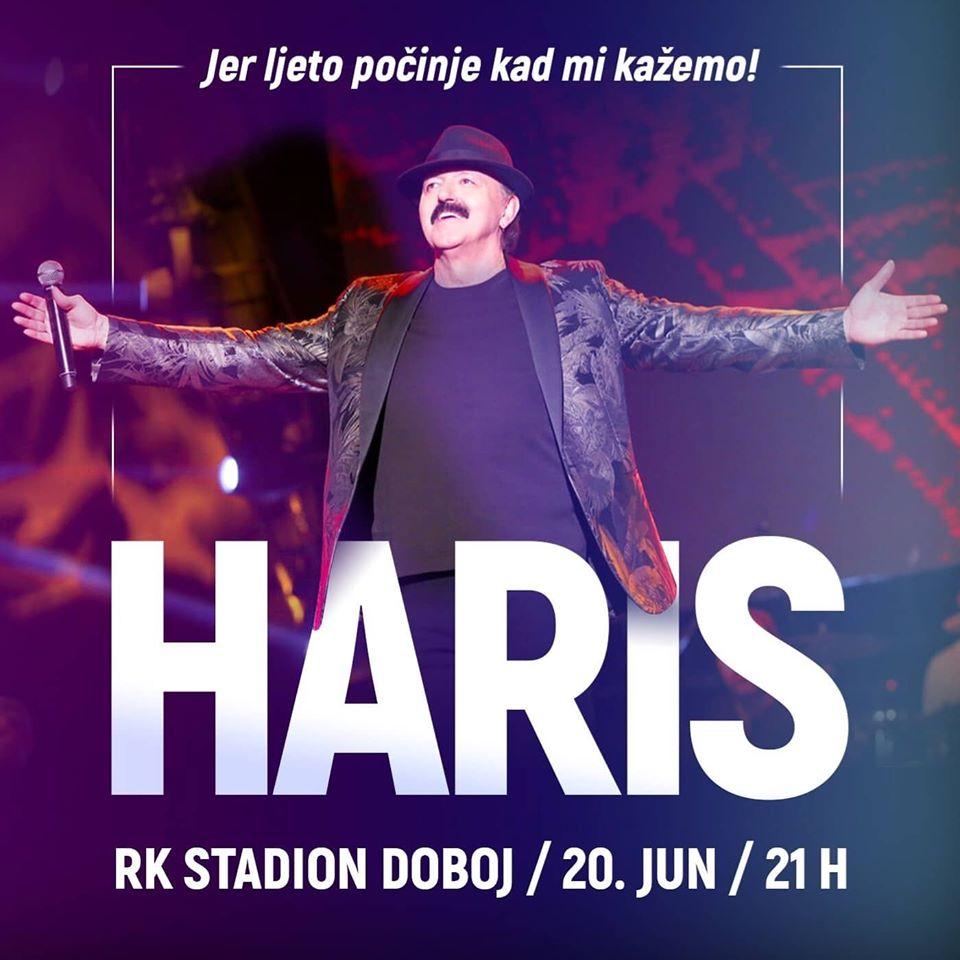 plakat_koncert_haris_dziovic_2020_doboj