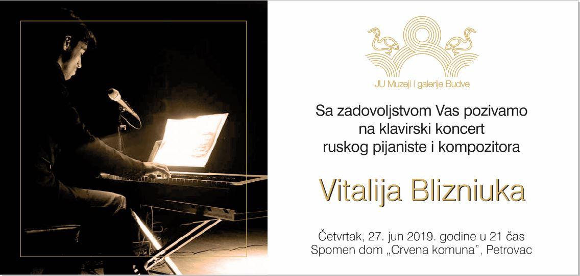 pozivnica koncert vitalij blizniuk 2019 petrovac