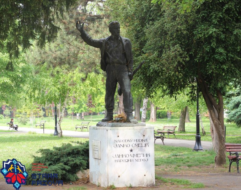 spomenik_narodnom_heroju_janku_cmelniku_park_stara_pazova