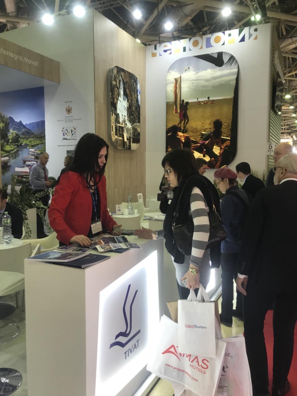 stand to tivat na sajmu turizma u moskvi mitt 2019