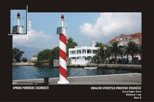 Uprava pomorske sigurnosti Obalno svijetlo pristan Staničić