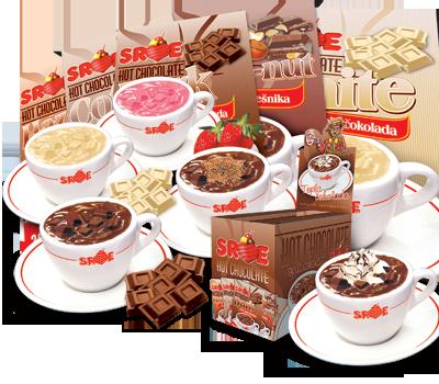 Srce sweets Kragujevac topla čokolada