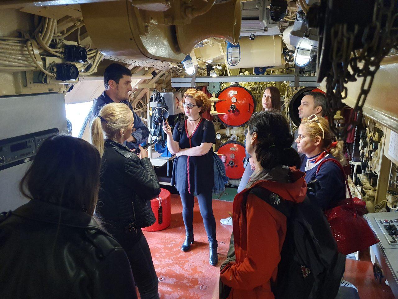 predstavnci medija iz srbije u poseti pomorskom muzeju tivat maj 2019