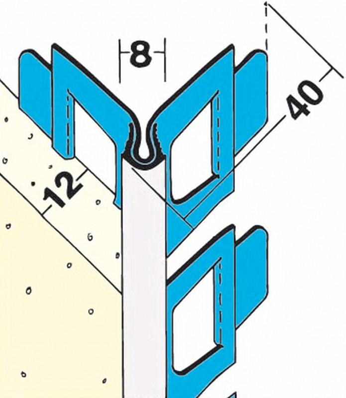 ugaona lajsna za malterisanje protektor za zaobljene lukove i spiralna stepenista