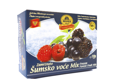 Mivex Food Zamrznuto šumsko voće, Frozen Forest Fruit Mix