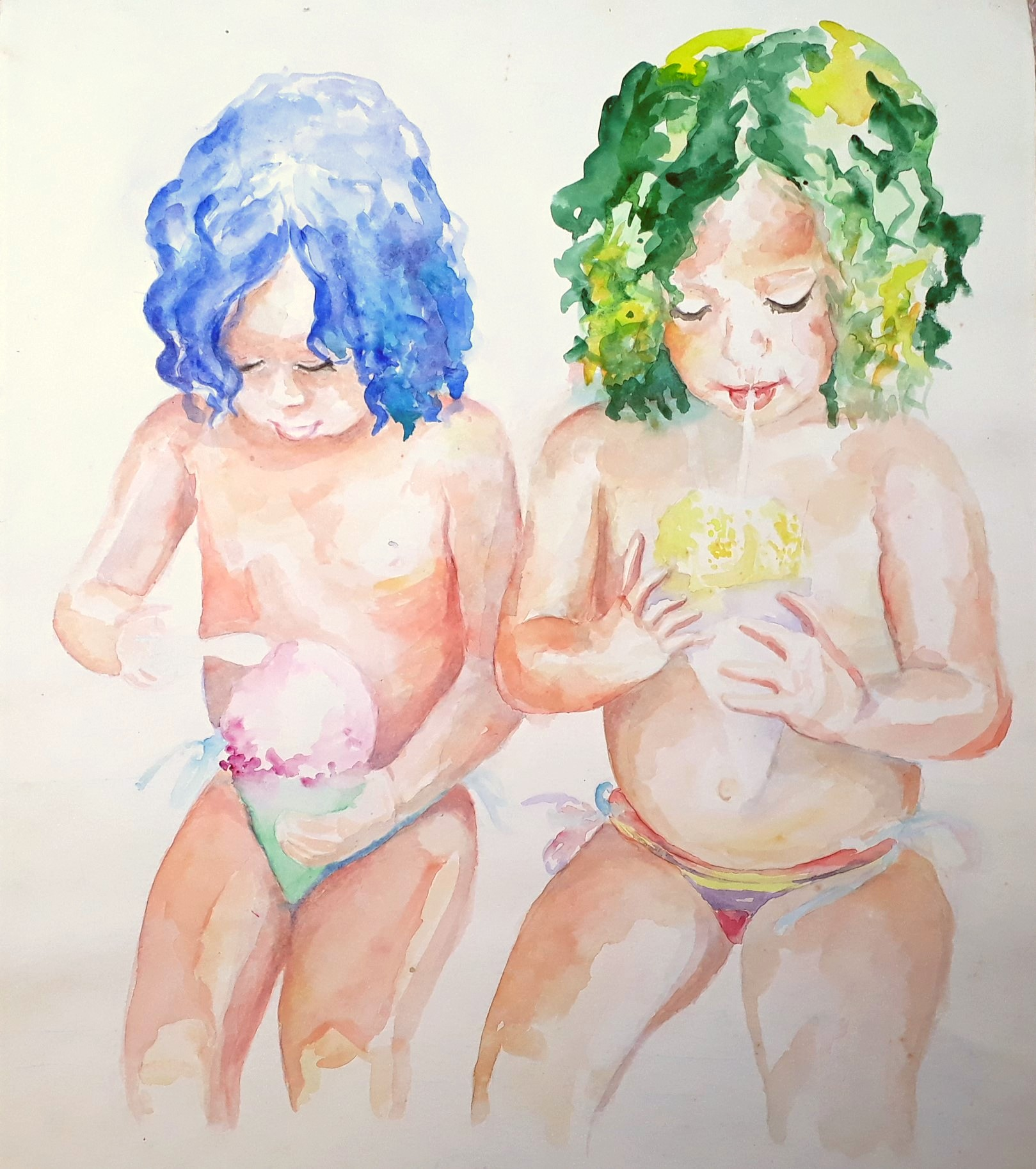 watercolor_ice_cream_girls_florensija_sangijao_2017