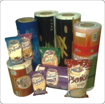 Blikprodukt vrećice od lamiiranih folija sa srednjim varom