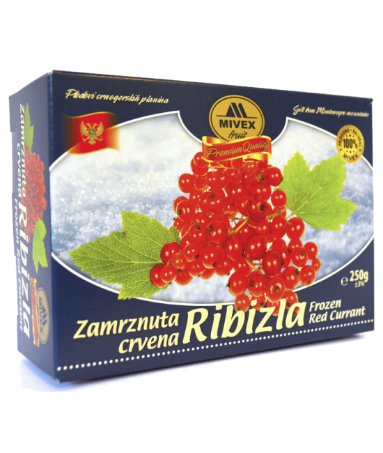 Mivex Food Zamrznutacrvena ribizla, Frozen Red Currant