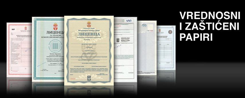 Vrednosni i zaštičeni papiri